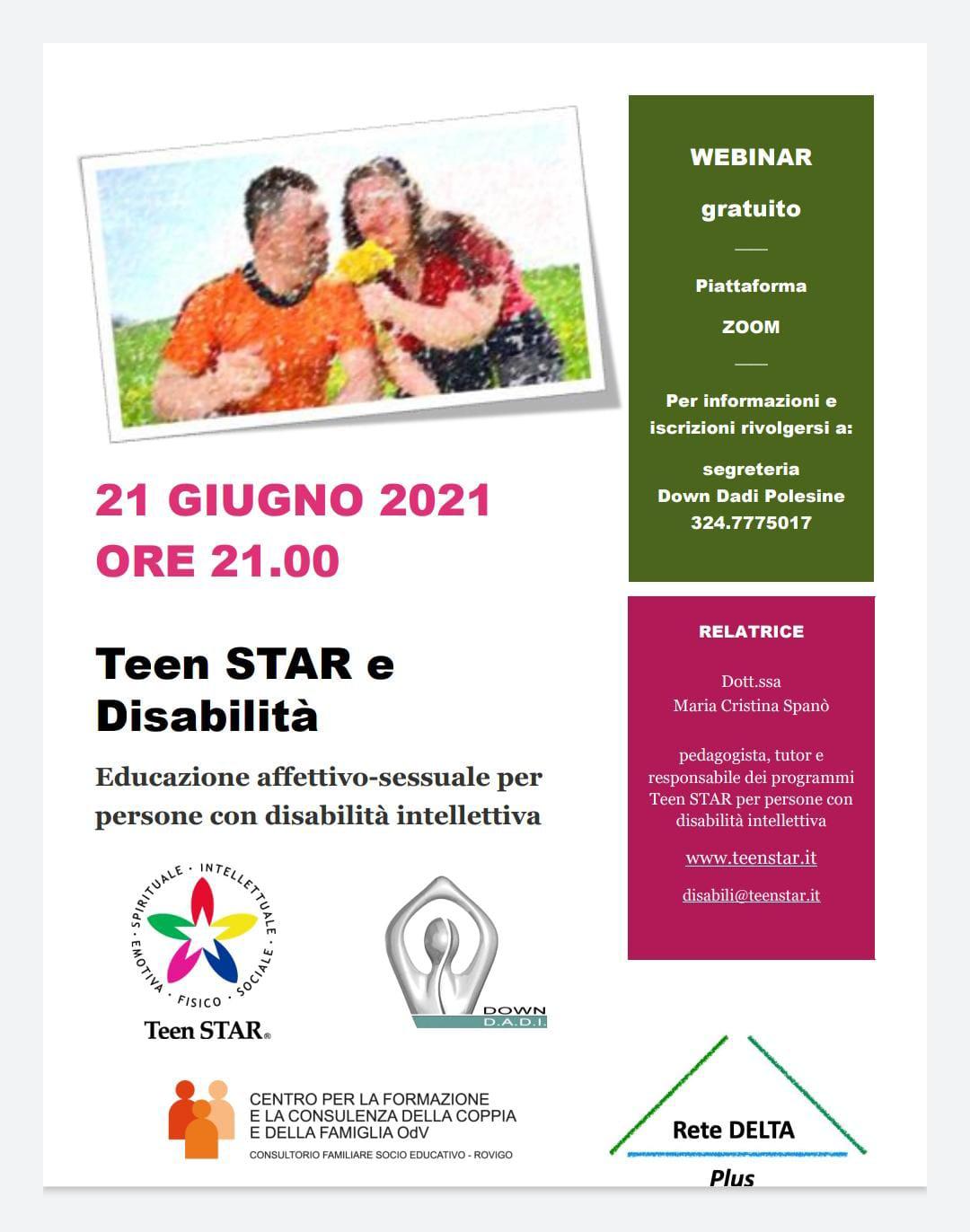 Teen Star e Disabilità